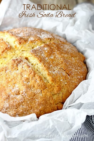 Irish Soda Bread | These Irish comfort foods have the spirit of tradition with a fun twist. Irish food is rooted in tradition and is typically stews or long braises which to me is instant comfort foods. These dishes are hearty and just melt in your mouth. Choose from slow cooking stews, pan-fried potatoes, and lots of Guinness beer. #xokatierosario #irishcomfortfood #irishrecipes #stpatricksdayrecipes