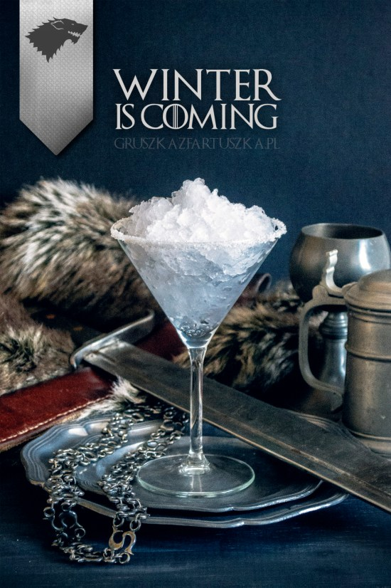 Winter is Coming | Are you obsessed with Game of Thrones? If so you must try this Game of Thrones Inspired Cocktails! These Game of Thrones Cocktails are inspired by events and characters we have grown to love. These cocktails are the perfect treat for your Final Season premiere watch party. #xokatierosario #easycocktailrecipes #gameofthroneswatchparty #gameofthronerecipes