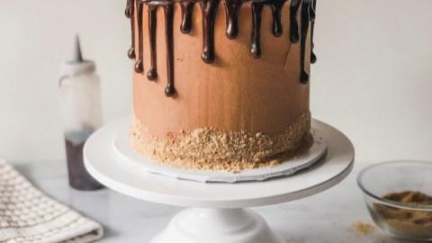Campfire Smores Cake