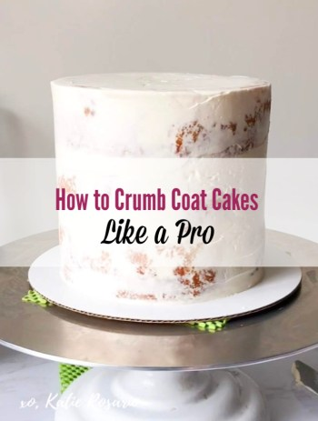I love cake decorating but I get so worried I don't know what I am doing. Idk where to start and that's why I absolutely love this cake decoaring guide on How to Crumb Coat a Cake! Creating the smooth, flawless buttercream finish you often find on professionally made cakes comes with practice. It also comes with the knowledge of a few insider techniques! These are three of the easiest ways we get that gorgeous finish on our layer cakes.