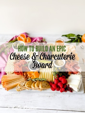 How to Make An Epic Cheese & Charcuterie Board - Learn how to assemble a stunning cheese and charcuterie board from start to finish with these simple step by step instructions. There's usually something on a cheese board that everyone will enjoy! #xokatierosario #foodstylist #cheesemonger #cheeseboard #charcuterieboard