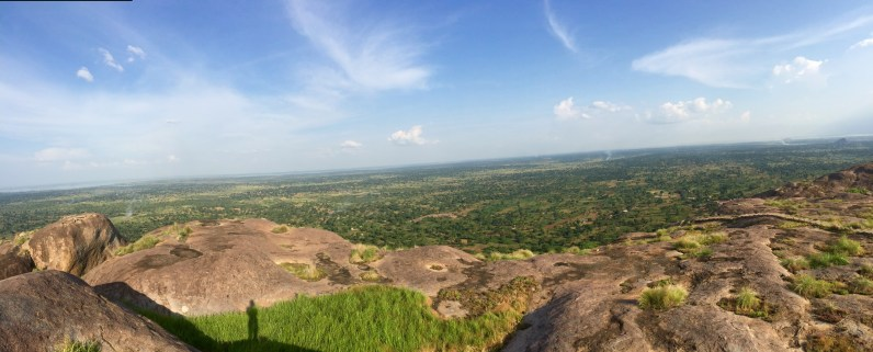 View from 3,600 ft - Kagulu Rock