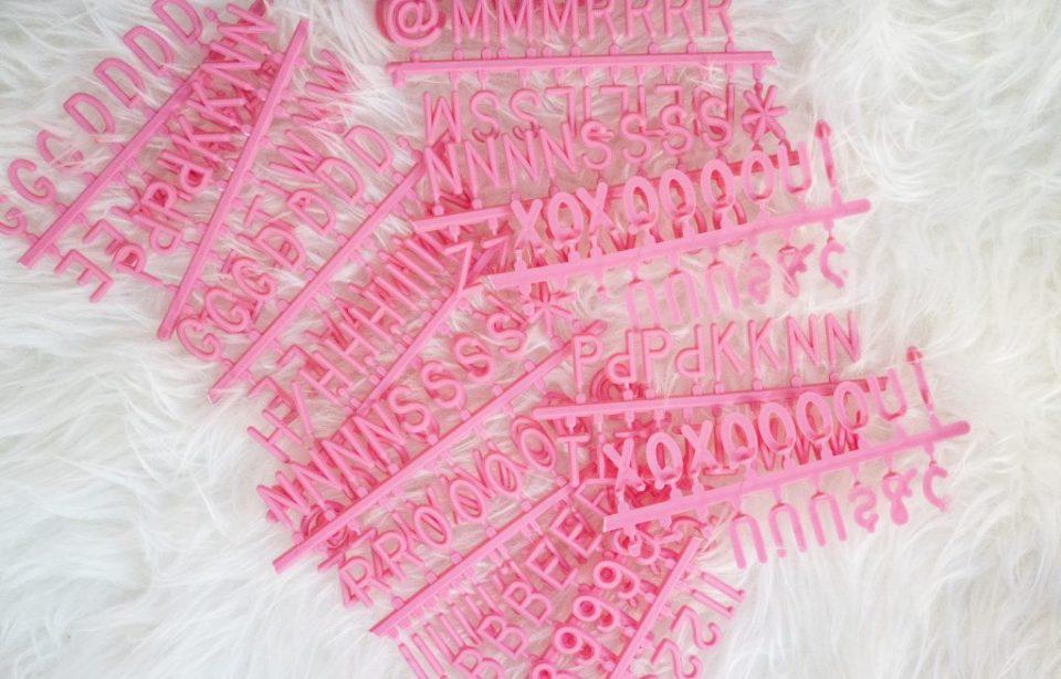 feltl like sharing pinkie promise letter set