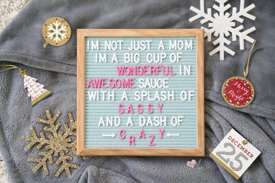 felt like sharing felt letter board mothers day gift ideas for her