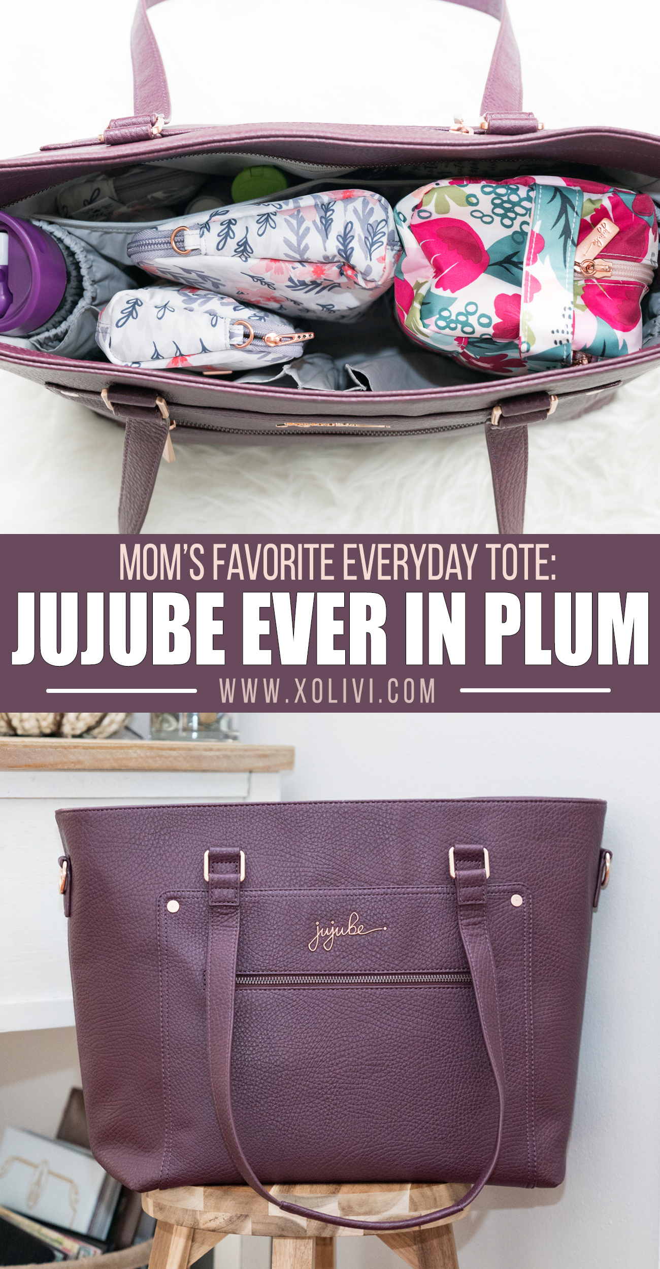 JUJUBE ever in plum packing tips