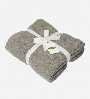 Bamboo Knit Throw