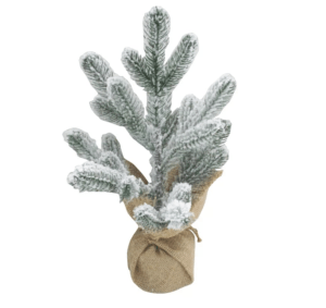Flocked Christmas Tree, Small