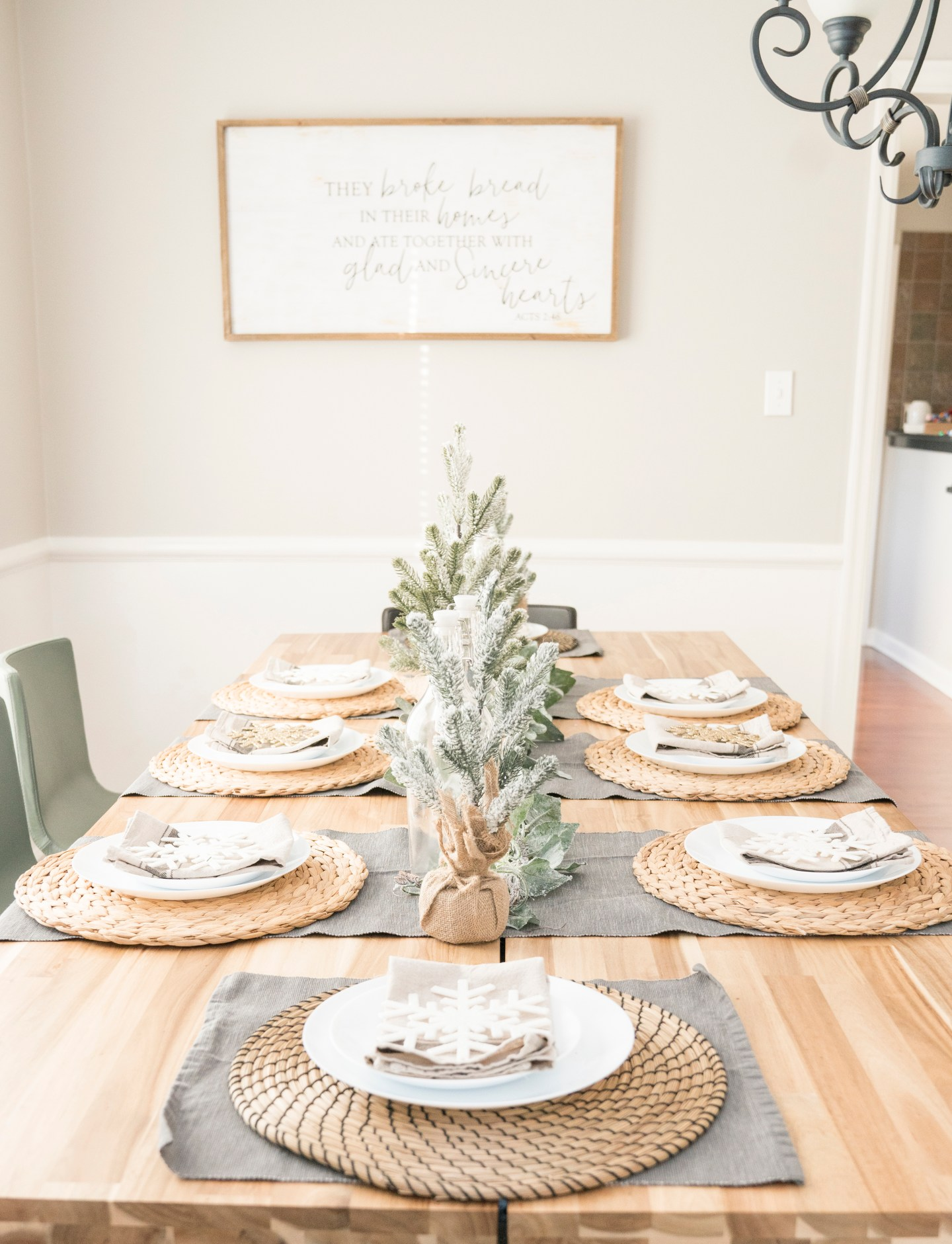 Christmas Tablescape Ideas