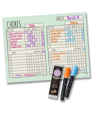 Chore Chart – Double