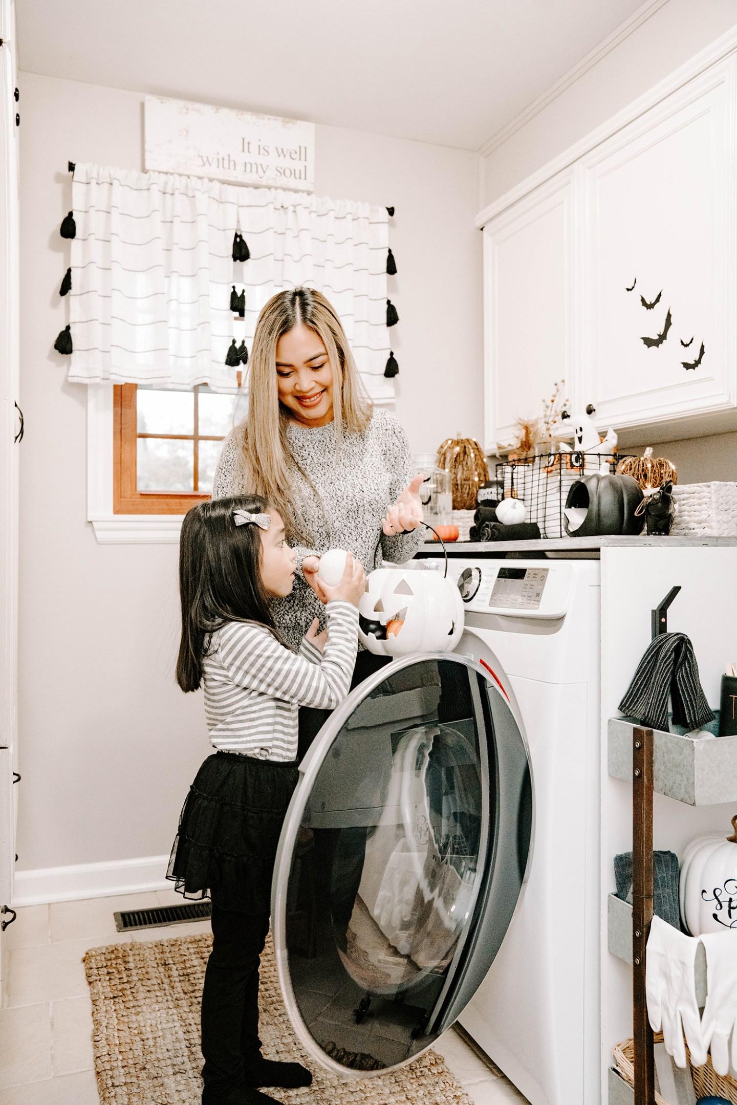 halloween decor ideas for laundry room