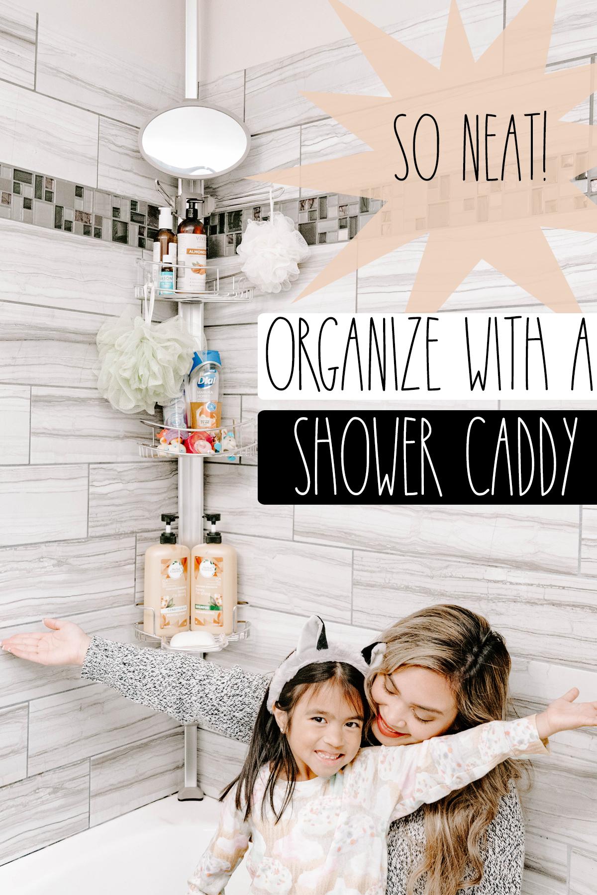 shower caddy organization