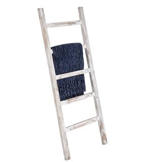 White Blanket ladder