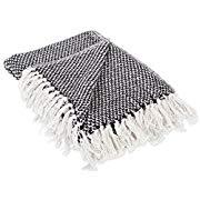 Black/White Throw Blanket
