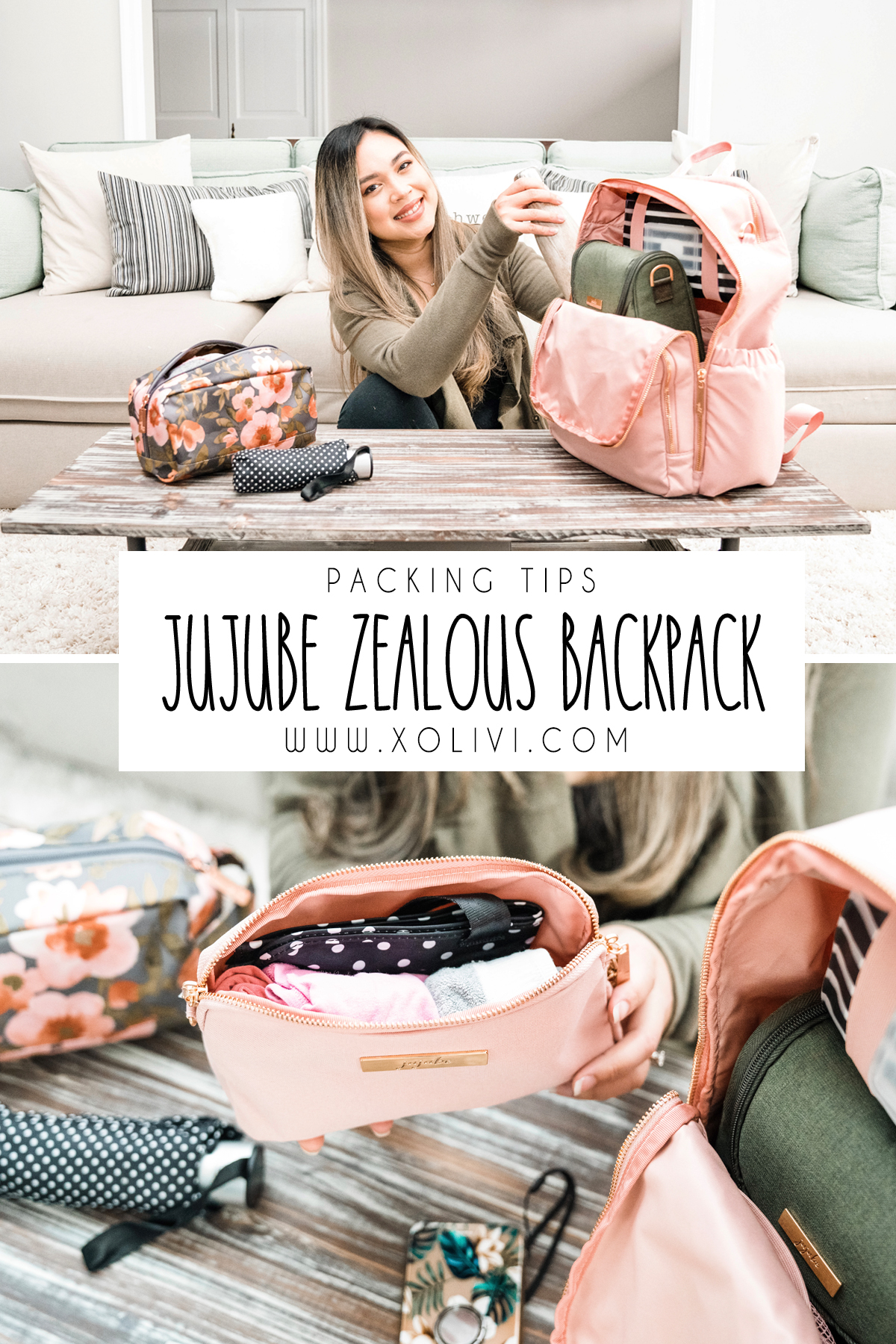 jujube zealous backpack