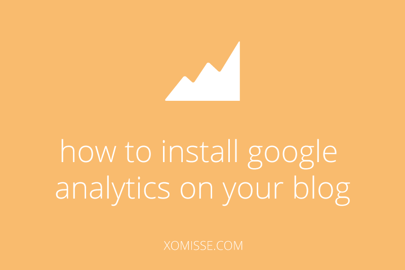 how-to-install-google-analytics to view stats, data and information