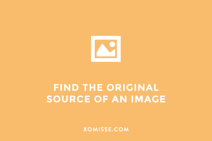 How to do a reverse image search - find the original source of any