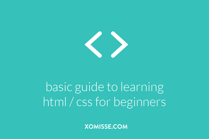 basic guide to learning html for beginners