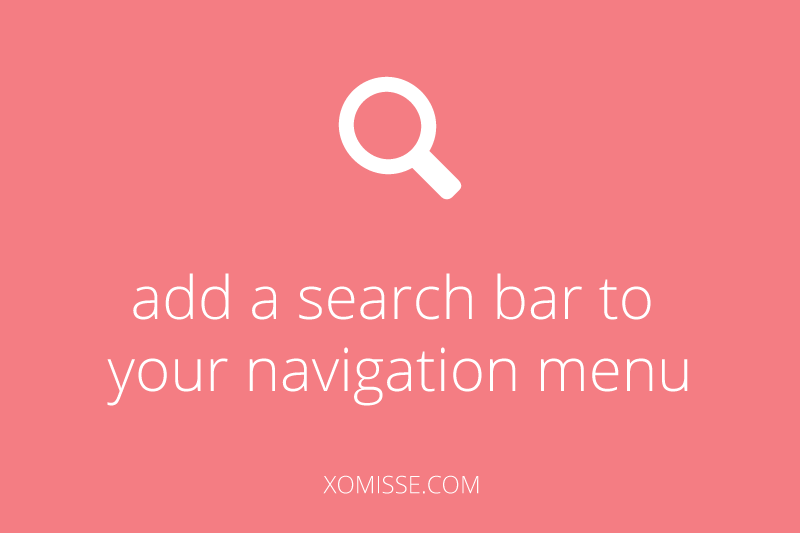 Add-a-search-bar-to-your-navigation-menu