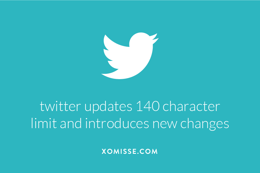 twitter updates 140 character limit