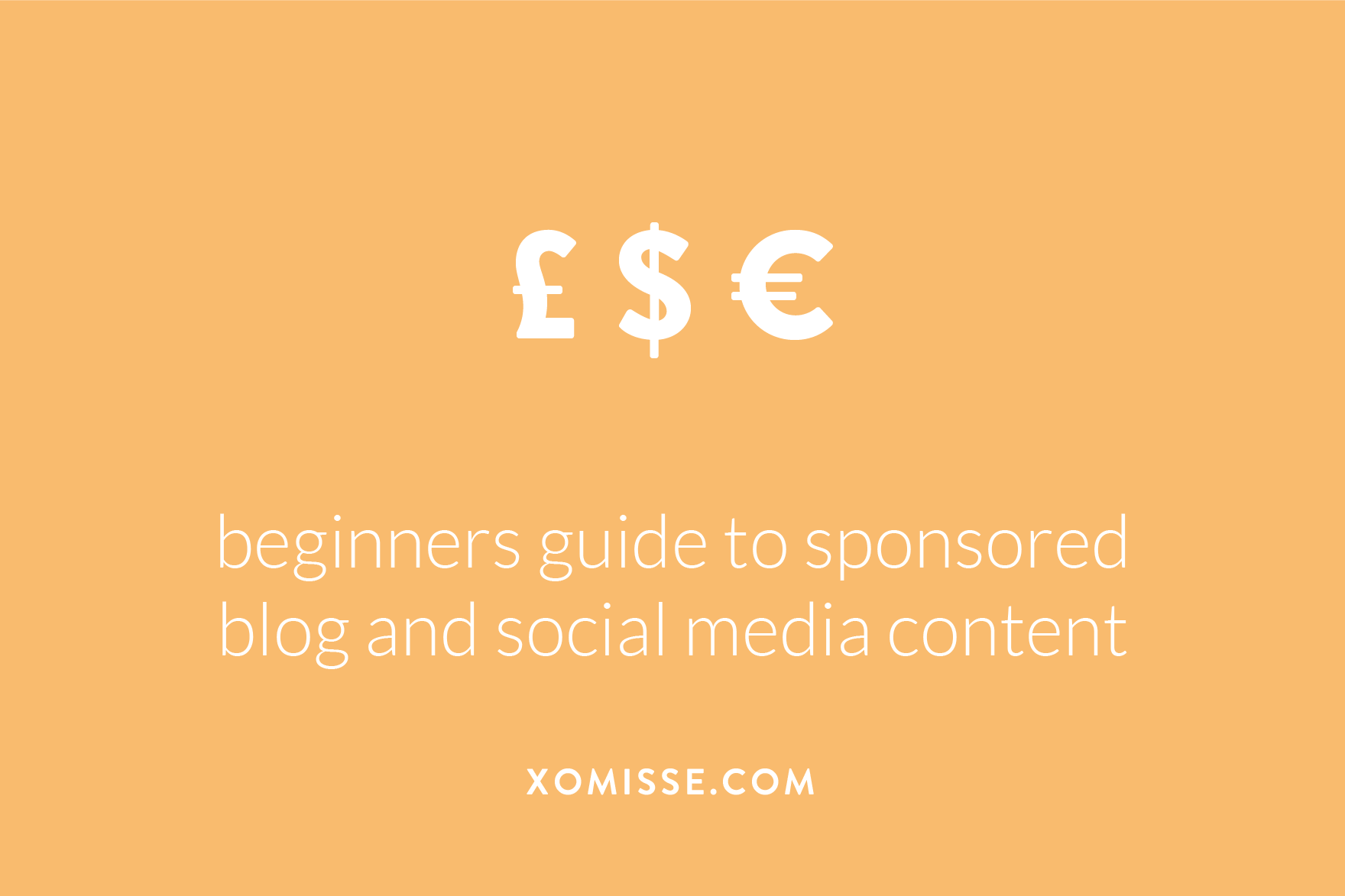 Want to write sponsored posts on your blog? Here's a guide to what sponsored content is, how it works, how to legally publish sponsored posts and how much to charge?