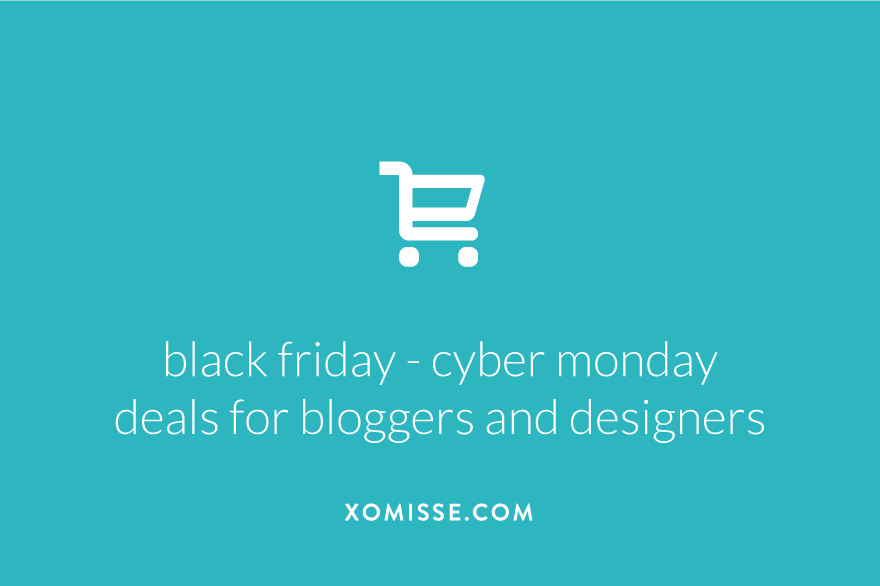 Black Friday, Small Business Saturday and Cyber Monday deals and discounts for bloggers, designers, developers and WordPress users