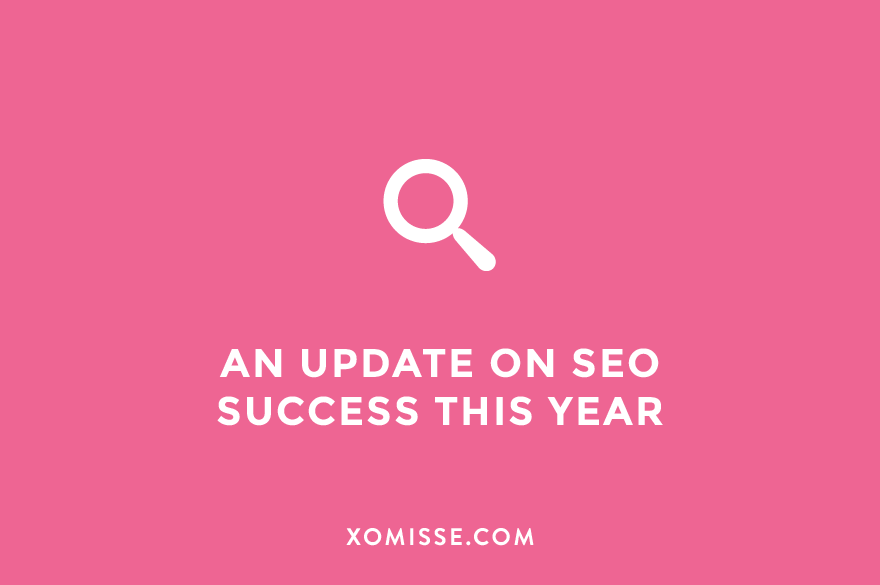 An update on SEO success this year