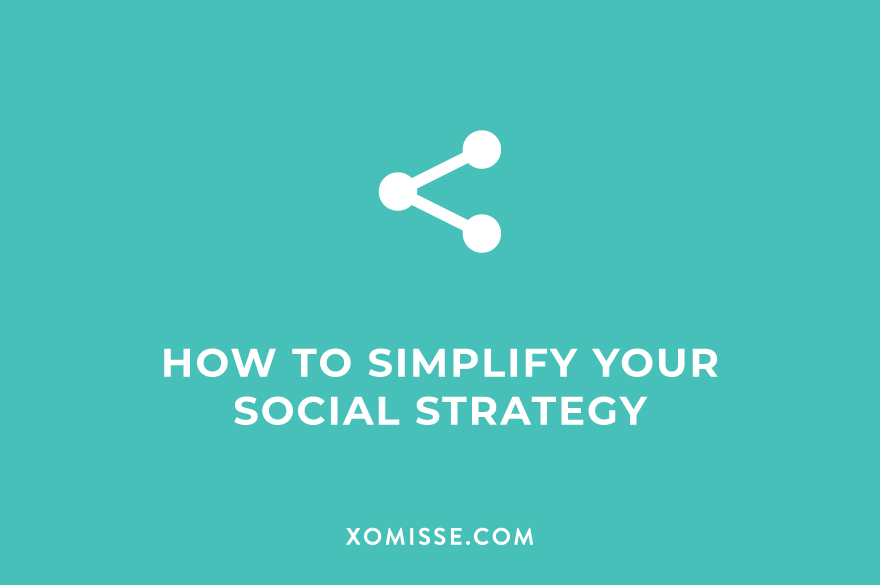How to simplify your social media strategy