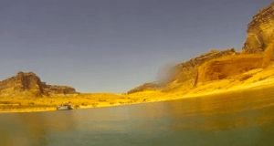 Jetski ride Lake Powell