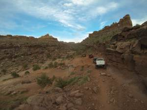 Pritchett Canyon trail
