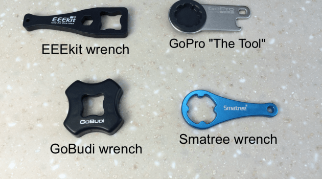 GoPro thumb screw wrench