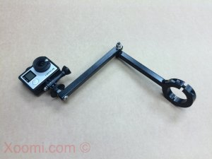 GoPro custom roll bar mount