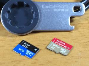 Best Hero4 memory cards