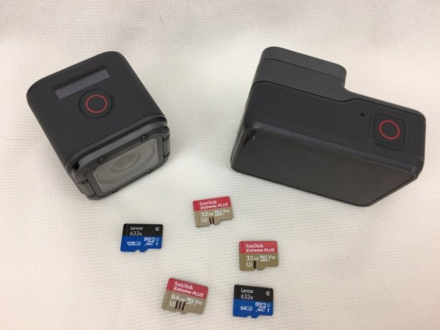 GoPro recommended memory cards