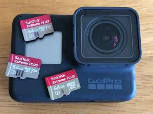 GoPro Hero6 SD card