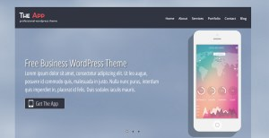 WordPress Landing Page Theme Free