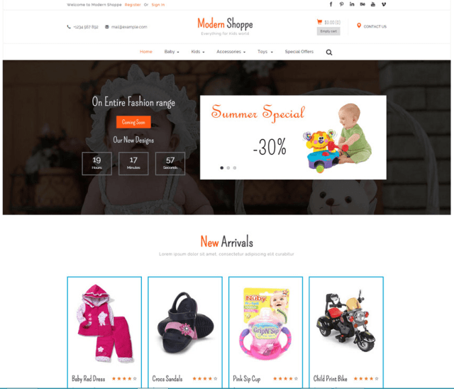 Best 30+ Free Bootstrap Ecommerce Templates 2017 - XooThemes.com