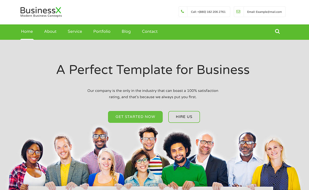 Businessx free bootstrap business website template free bootstrap business website template wajeb Choice Image