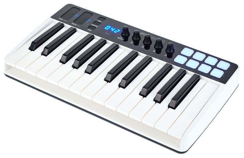 MIDI IK MULTIMEDIA IRIG KEYS I / O 25