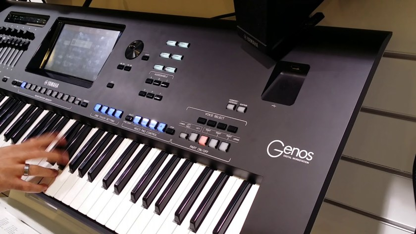 Multifunctional Yamaha Genos With Auto Accompaniment