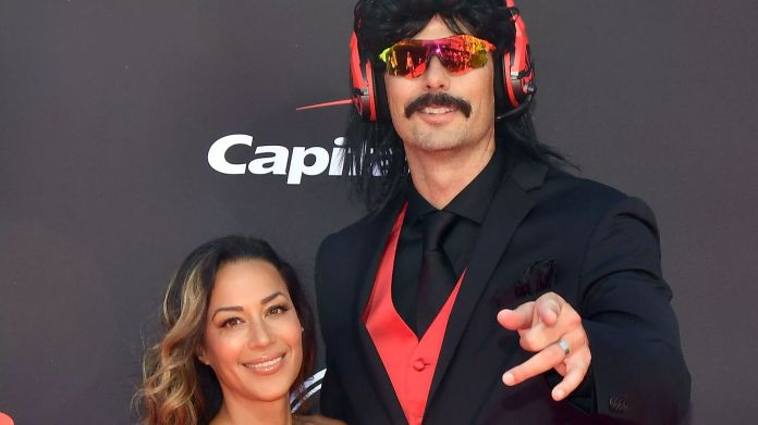 dr disrespect wife