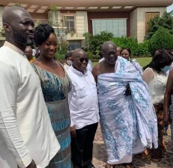 K. Jumah marries Akufo-Addo's daughter