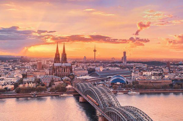 Картинки мост через реку Рейн скачать на рабочий стол ...