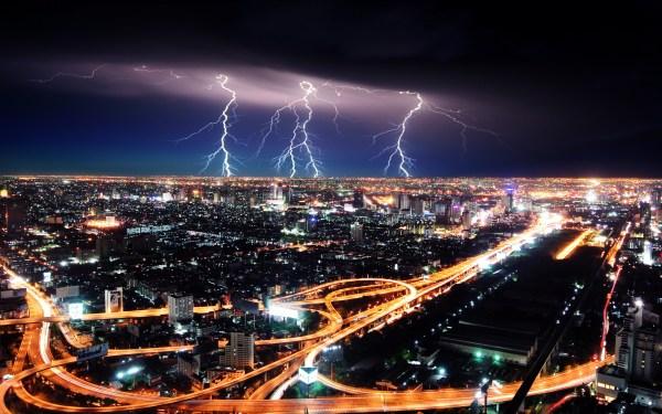 Картинки город скачать на рабочий стол, фотографии ночь