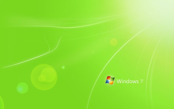 Обои windows 7, скачать фотографии минимализм, цвет
