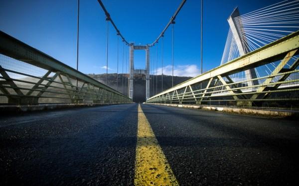 Картинки дорога скачать на рабочий стол, фото мост