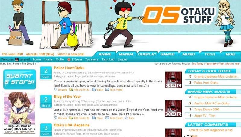 Otakustuff.com: Stuff for Otaku!