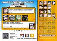 Naruto Arena: online Naruto Game Characters