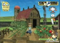 Harvest Moon Heroes for the Wii