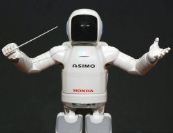 ASIMO to conduct orchestra