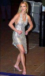Britney's muscular legs